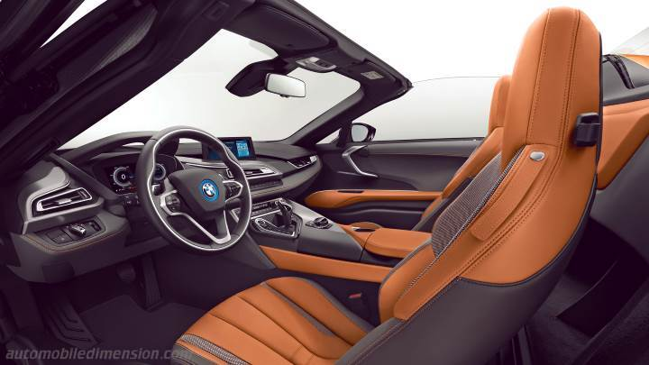 Bmw I8 Roadster 2018 Dimensions Boot Space And Interior