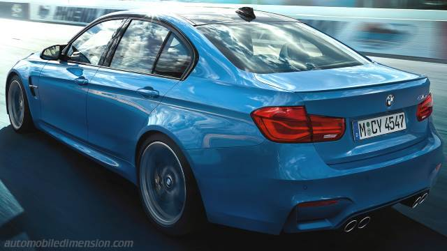 BMW M3 2014 kofferbak