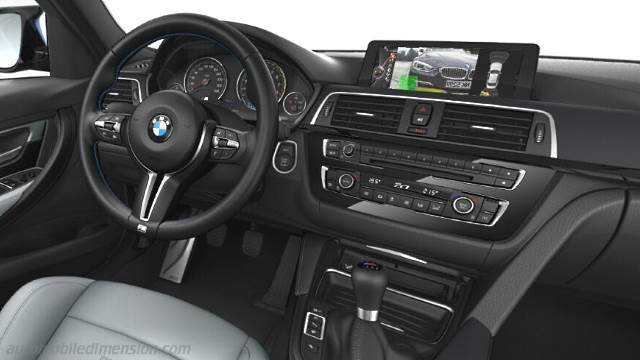 BMW M3 2014 dashboard