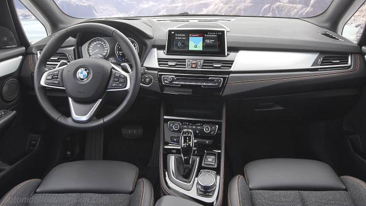 Bmw 2 Active Tourer 2018 Dimensions Boot Space And Interior