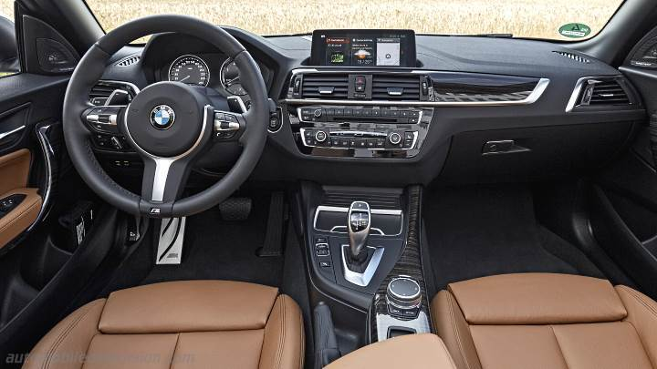 BMW 2 Cabrio 2017 dashboard