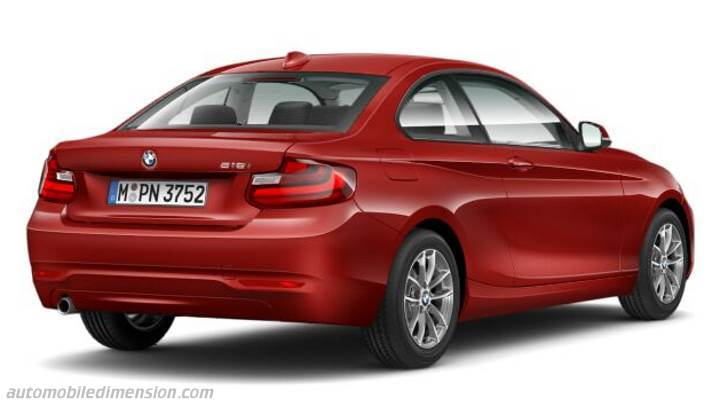 BMW 2 Coupe 2014 bagageutrymme