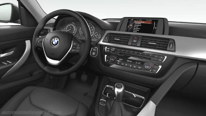 BMW 3 Gran Turismo 2016 dashboard