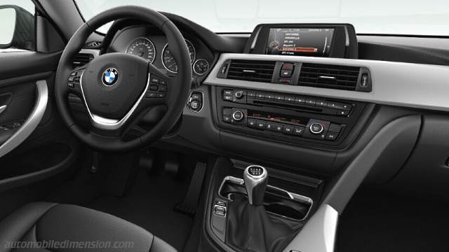 BMW 4 Coupe 2013 dashboard