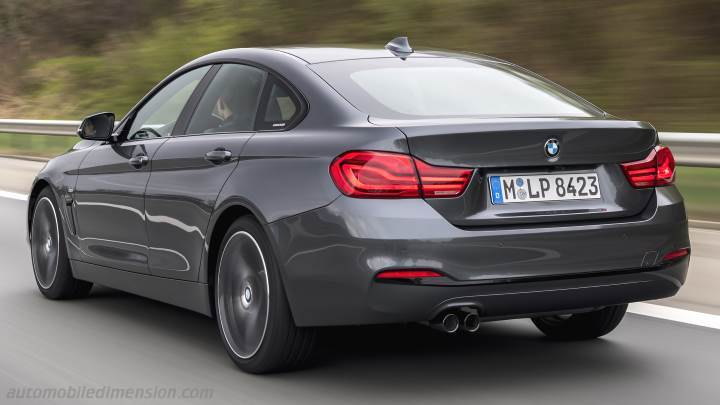 BMW 4 Gran Coupe 2017 kofferbak