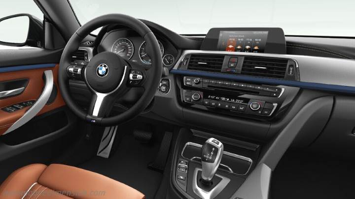 BMW 4 Gran Coupe 2017 dashboard