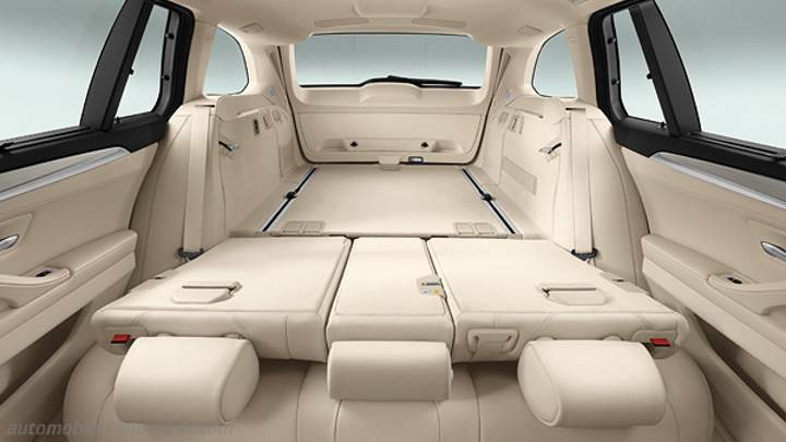 dimensions bmw 5 touring 2013 coffre et int rieur. Black Bedroom Furniture Sets. Home Design Ideas