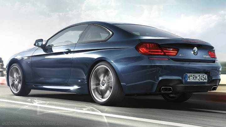 bmw 6 coupe 2015 dimensions boot space and interior. Black Bedroom Furniture Sets. Home Design Ideas