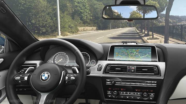 BMW 6 Coupe 2015 dashboard