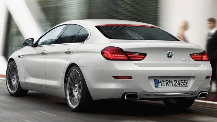 BMW 6 Gran Coupe 2015 Boot Zoom