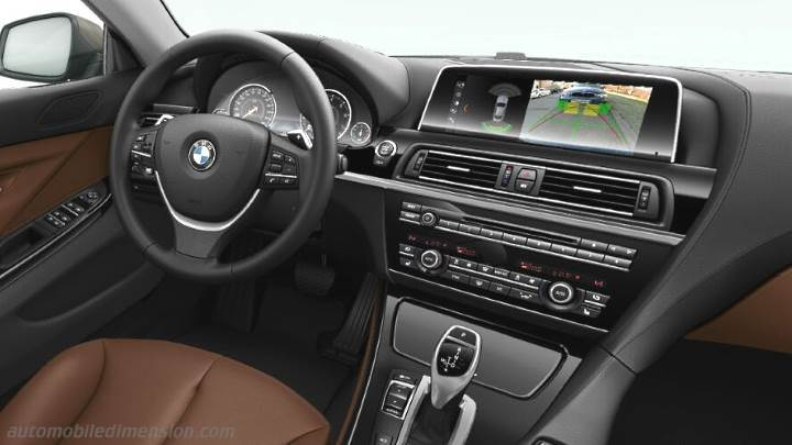 BMW 6 Gran Coupe 2015 Dashboard Zoom