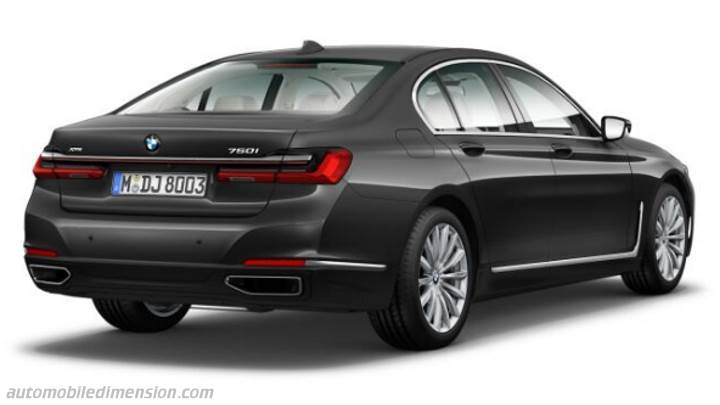 BMW 7 2019 kofferbak