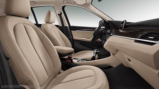 BMW X1 2015 dimensions, boot space and interior
