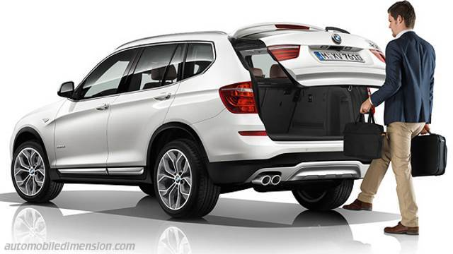 dimensions bmw x3 2014 coffre et int rieur. Black Bedroom Furniture Sets. Home Design Ideas