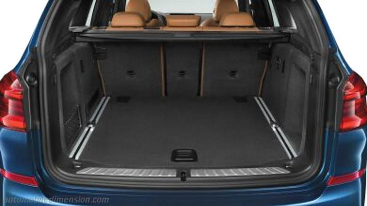 Bmw X3 2017 Dimensions Boot Space And Interior