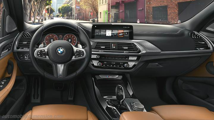 bmw x3 2017 dimensions boot space and interior. Black Bedroom Furniture Sets. Home Design Ideas