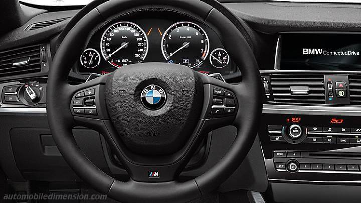 bmw x4 2014 dimensions boot space and interior. Black Bedroom Furniture Sets. Home Design Ideas