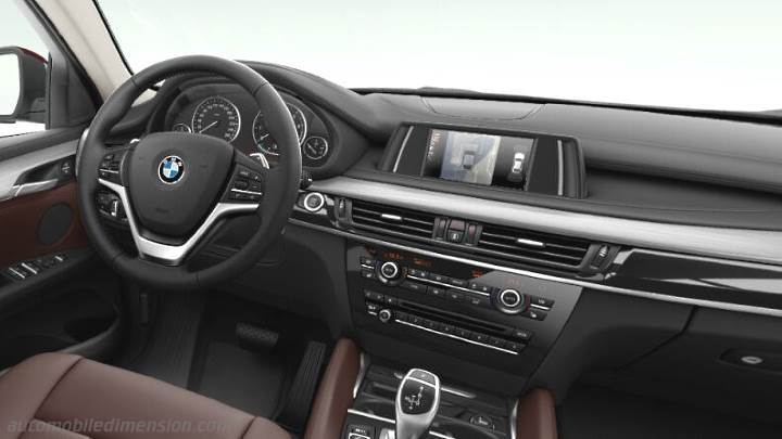 BMW X6 2015 dashboard