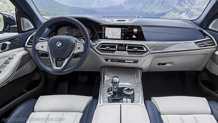 Bmw X7 2019 Dimensions Boot Space And Interior