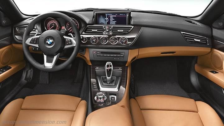BMW Z4 2009 dashboard