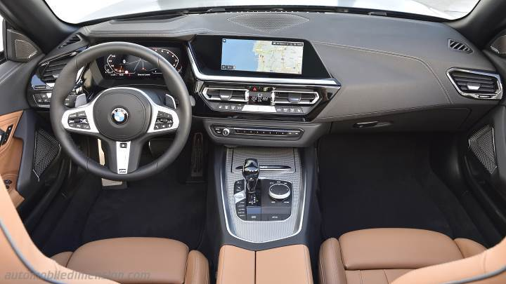 Bmw Z4 2019 Dimensions Boot Space And Interior