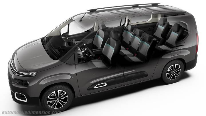 Interni Citroen Berlingo XL 2019