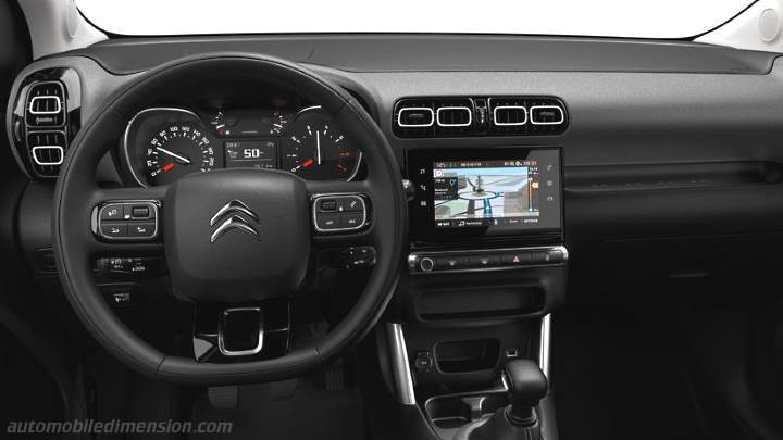 Citroen C3 Aircross 2018 dashboard
