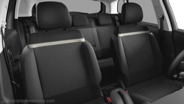 Citroen C3 Aircross 2018 interieur