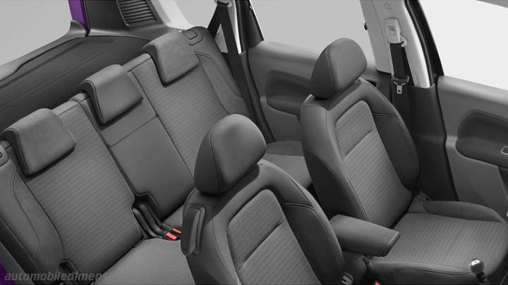 Citroen C3 Picasso 2013 Dimensions Boot Space And Interior