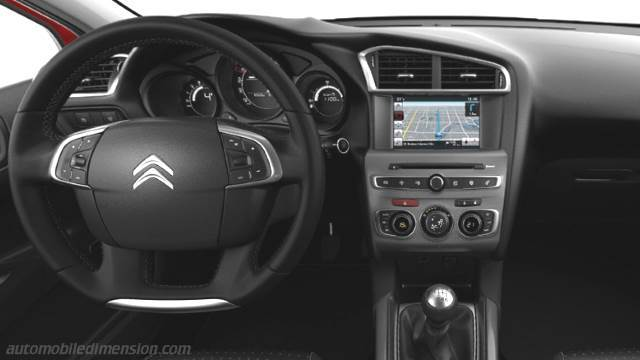 Citroen C4 2015 Dimensions Boot Space And Interior