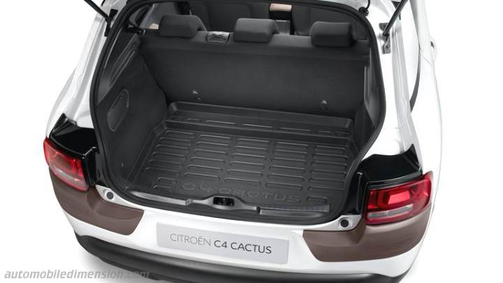 citroen c4 cactus 2014 dimensions boot space and interior. Black Bedroom Furniture Sets. Home Design Ideas