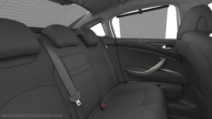citroen c5 2010 dimensions boot space and interior Citroen C4 Picasso Interior citroen c5 2010 interior zoom