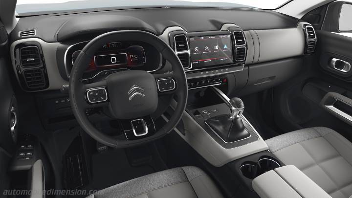 Citroen C5 Aircross 2019 dashboard