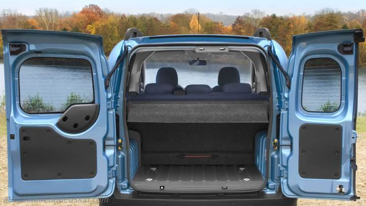 citroen nemo multispace 2012 dimensions boot space and interior. Black Bedroom Furniture Sets. Home Design Ideas