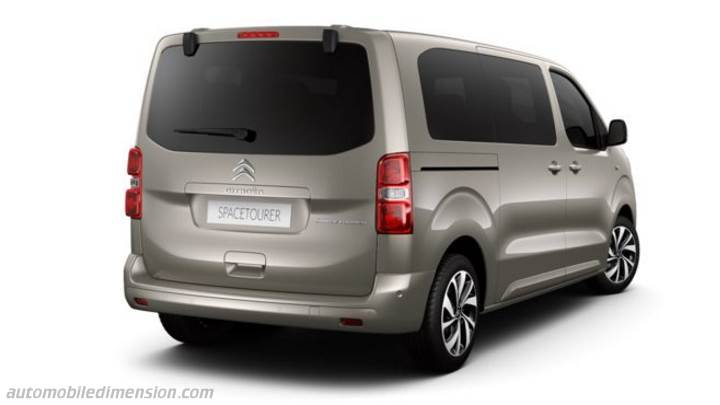 Coffre Citroen SpaceTourer M 2016