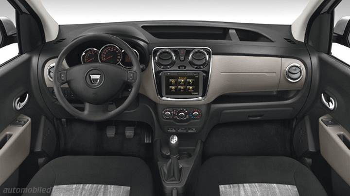 dacia dokker 2013 dimensions  boot space and interior
