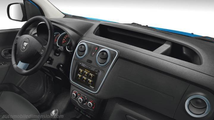Dacia Dokker Stepway 2015 dashboard