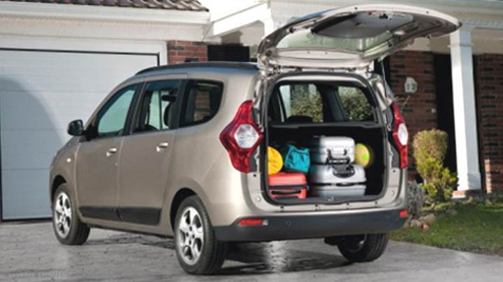 Dacia Lodgy 2012 kofferbak