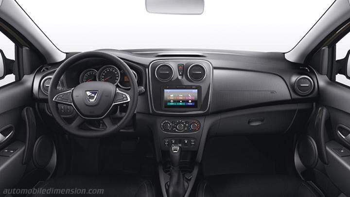 Dacia Logan 2017 dashboard