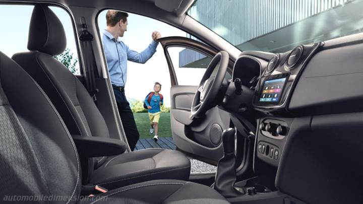 Dacia Logan 2017 interieur