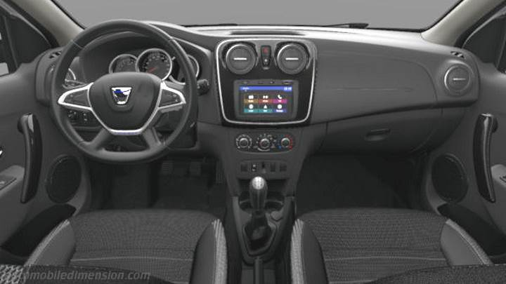 Dacia Logan MCV Stepway 2017 dashboard