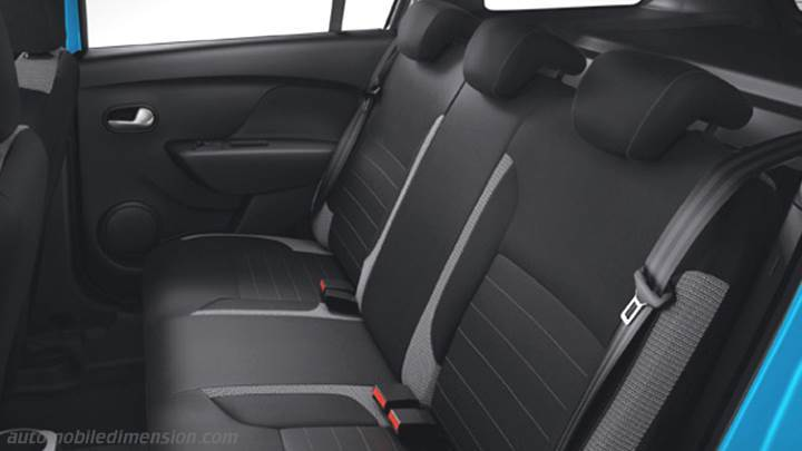 dimensions dacia logan mcv stepway 2017 coffre et int rieur. Black Bedroom Furniture Sets. Home Design Ideas