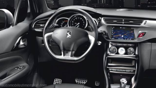 DS DS3 2011 dashboard