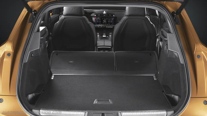 ds ds7 crossback 2018 dimensions boot space and interior. Black Bedroom Furniture Sets. Home Design Ideas