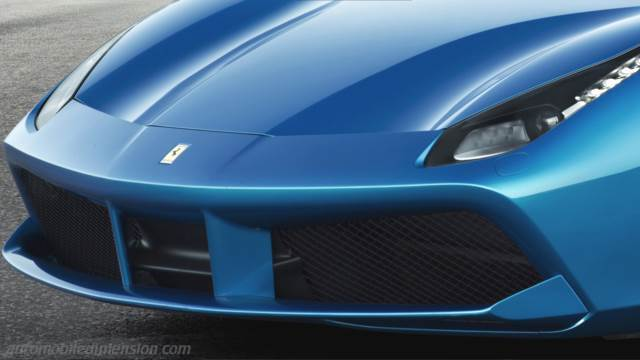 Ferrari 488 Spider 2016 boot