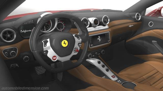 Ferrari California T 2014 Armaturenbrett