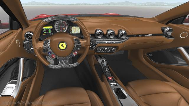 Ferrari F12berlinetta 2012 dashboard