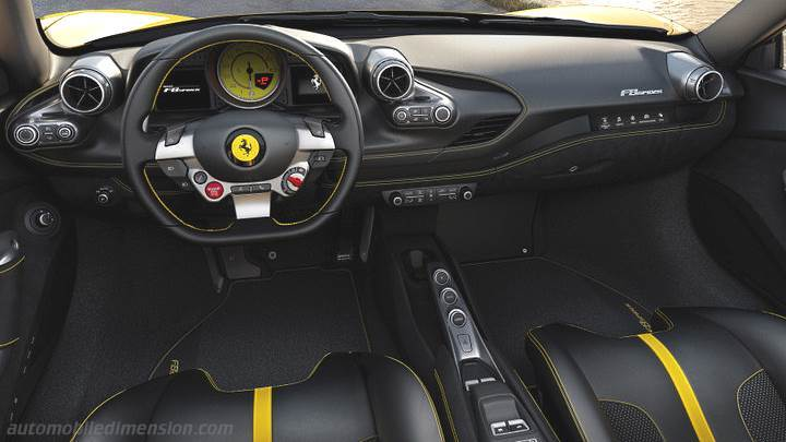 Ferrari F8 Spider 2020 dashboard