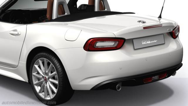 Fiat 124 Spider 2016 kofferbak