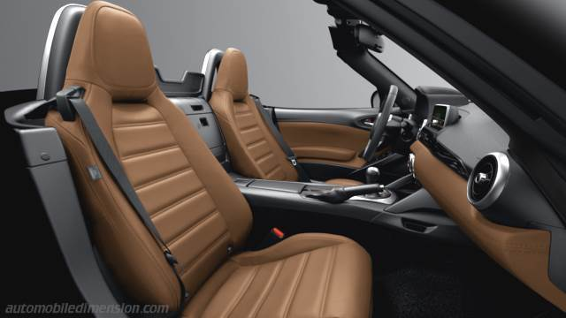 Fiat 124 Spider 2016 interieur